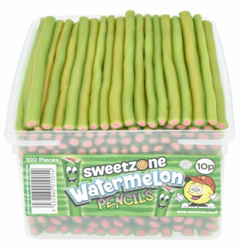 Sweetzone Watermelon Filled Pencils